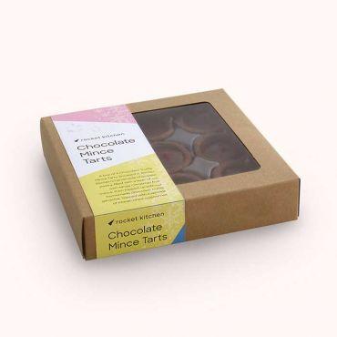 Chocolate Truffle Mince Tarts - 9 pack