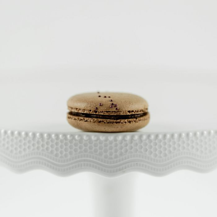 Dark Chocolate Macaron