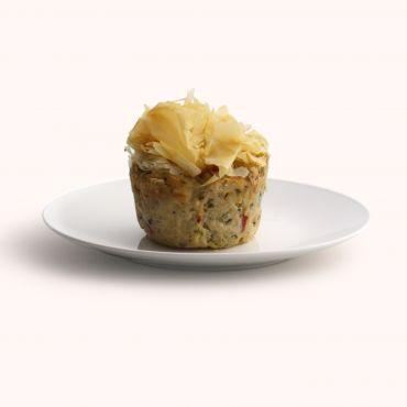 Mediterranean Chicken Filo Bake