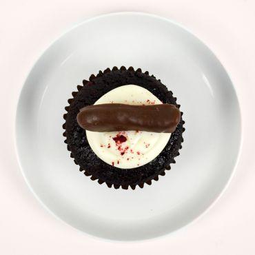 Chocolate Fish Cupcake