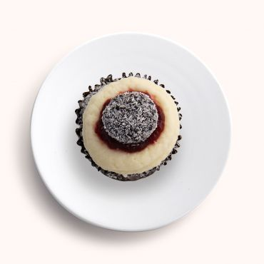 Chocolate Lamington Cupcake