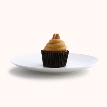 Sticky Caramel Morning Tea Cupcake