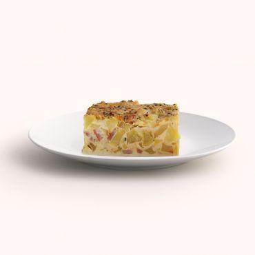 Bacon Quiche Slab
